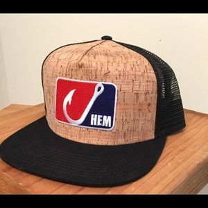 Cork Snapback Mesh Trucker Fishing Hat